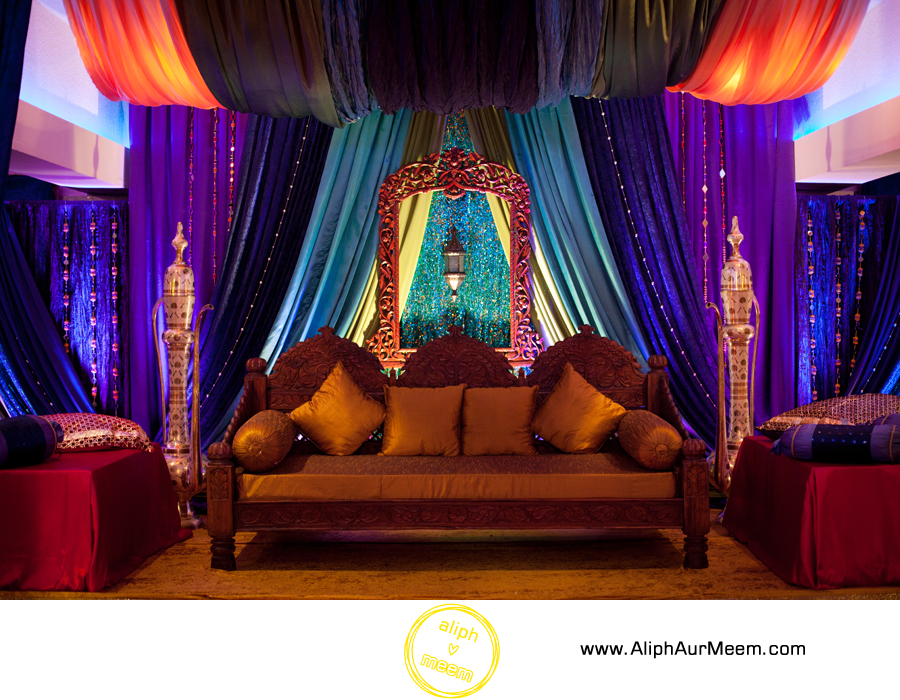 Mehndi Party Toronto Decor