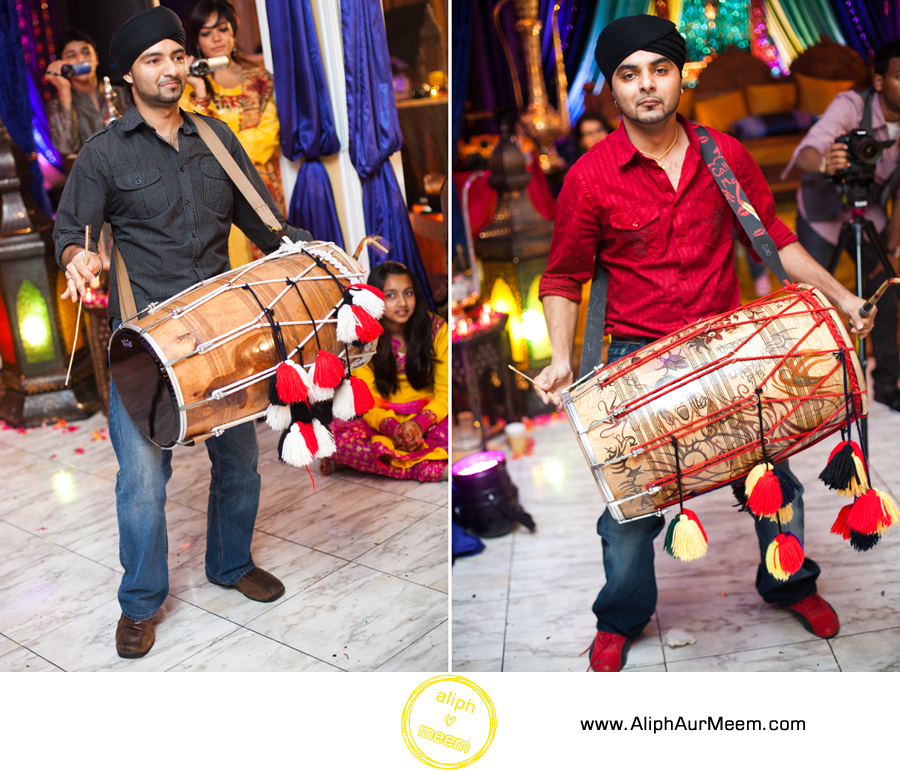 Dhol wedding